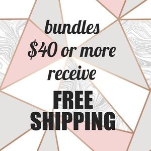 Orders $40 or more get FREE SHIPPING!